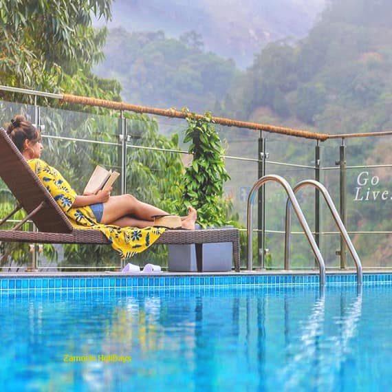 Blanket Munnar Swimming Pool
